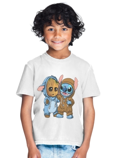 Groot x Stitch for Kids T-Shirt
