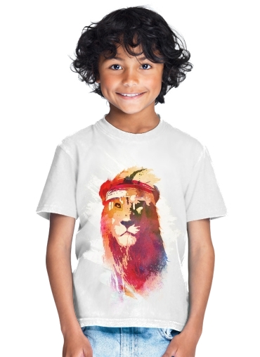 Gym Lion for Kids T-Shirt