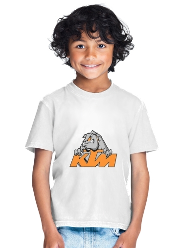 KTM Racing Orange And Black for Kids T-Shirt