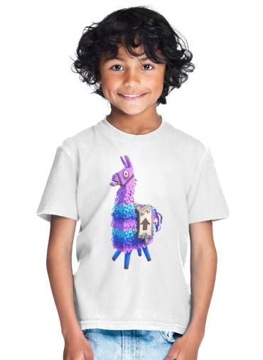 Lama Fortnite for Kids T-Shirt