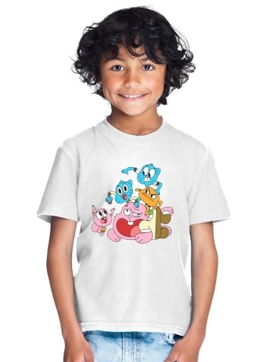 le monde incroyable de gumball for Kids T-Shirt