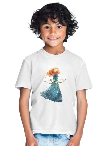 Merida Watercolor for Kids T-Shirt