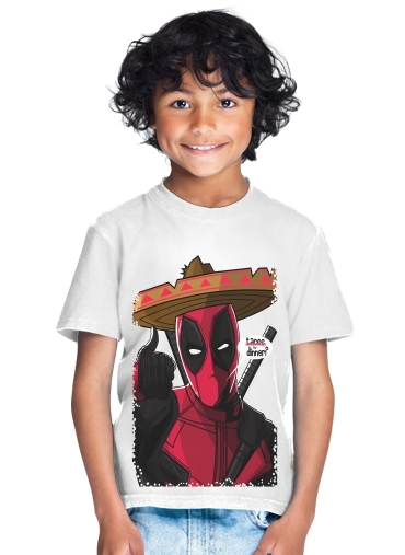 Mexican Deadpool for Kids T-Shirt