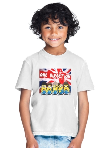 Minions mashup One Direction 1D for Kids T-Shirt