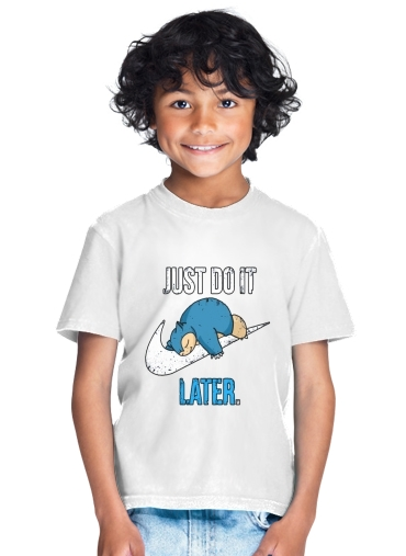 Nike Parody Just do it Late X Ronflex for Kids T-Shirt