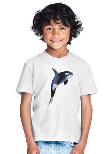 Orca Whale for Kids T-Shirt