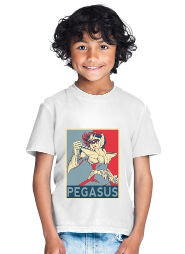 Pegasus Zodiac Knight for Kids T-Shirt