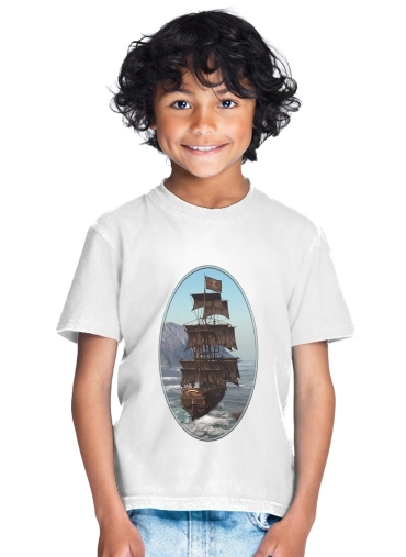 Pirate Ship 1 for Kids T-Shirt