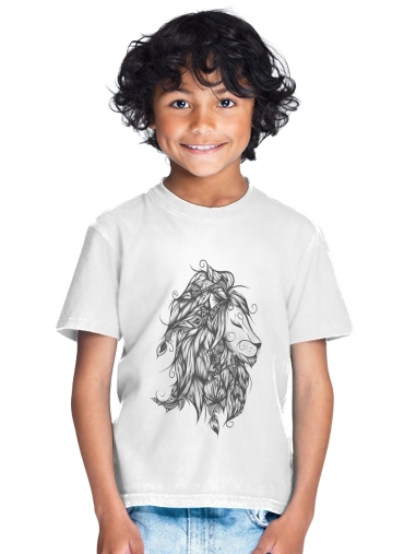 Poetic Lion for Kids T-Shirt