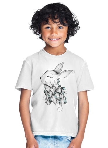 Poetic Rabbit  for Kids T-Shirt