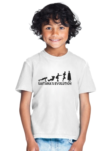 Saitama Evolution for Kids T-Shirt