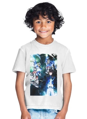 Setsuna Exia And Gundam for Kids T-Shirt