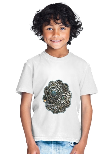 Silver glitter bubble cells for Kids T-Shirt