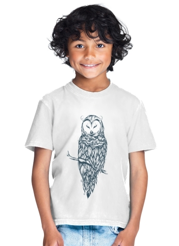 Snow Owl for Kids T-Shirt