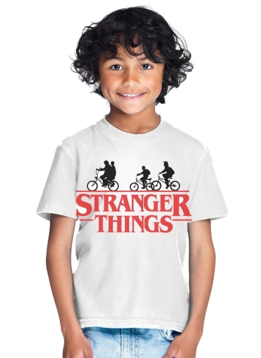 Stranger Things by bike for Kids T-Shirt