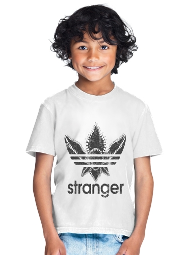 Stranger Things Demogorgon Monster JOKE Adidas Parodie Logo Serie TV for Kids T-Shirt