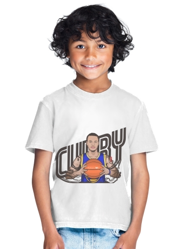 The Warrior of the Golden Bridge - Curry30 for Kids T-Shirt