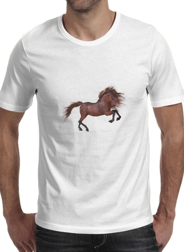 A Horse In The Sunset for Men T-Shirt