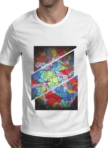 T-Shirts Abstract Cool Cubes