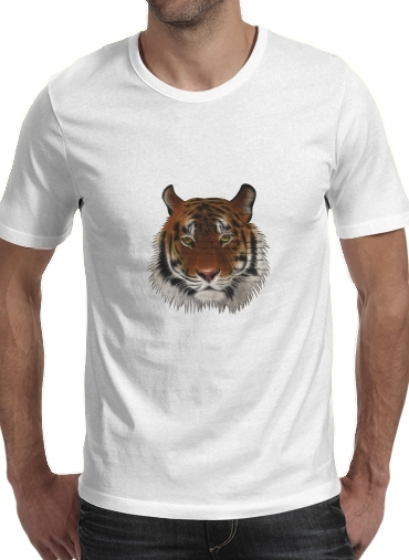 Abstract Tiger for Men T-Shirt