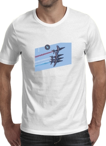 T-Shirts Alpha Jet Dassaut Avion Patrouille de France