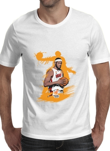 Basketball Stars: Lebron James for Men T-Shirt