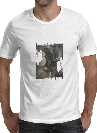 Black Dragon for Men T-Shirt