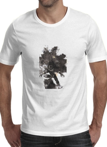 T-Shirts Black Panther Abstract Art Wakanda Forever