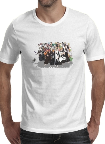 Bleach All characters for Men T-Shirt