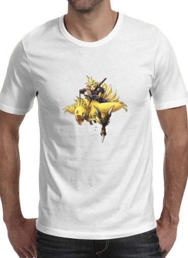 Chocobo and Cloud for Men T-Shirt