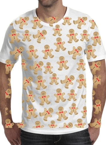 T-Shirts Christmas snowman gingerbread