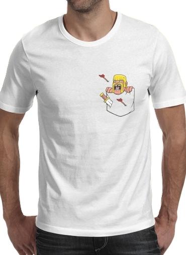 T-Shirts Clash Pocket
