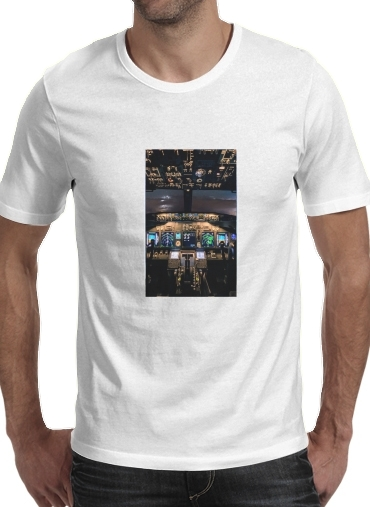 Cockpit Aircraft for Men T-Shirt