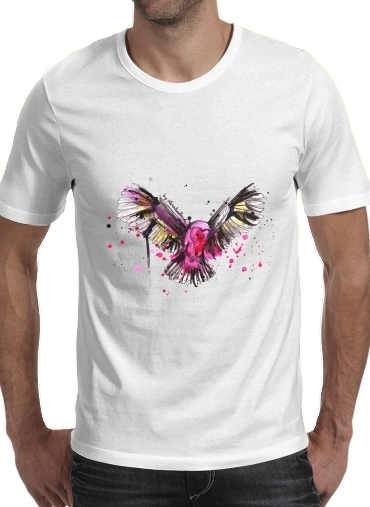 Colored Owl for Men T-Shirt