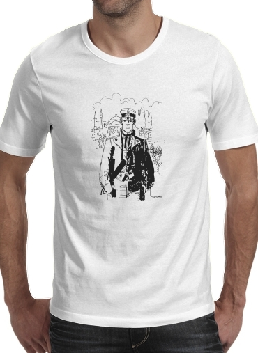 Corto Maltes Fan Art for Men T-Shirt