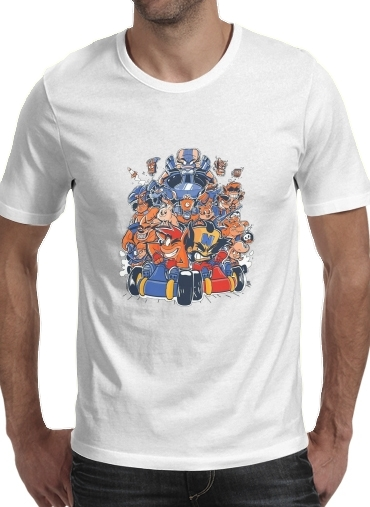Crash Team Racing Fan Art for Men T-Shirt
