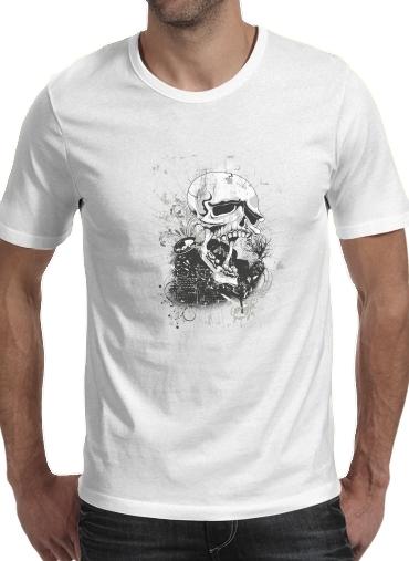 T-Shirts Dark Gothic Skull
