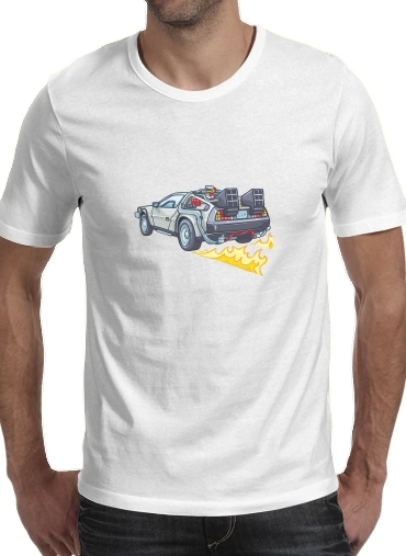 Delorean retour vers le futur for Men T-Shirt