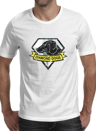 T-Shirts Diamond Dogs Solid Snake