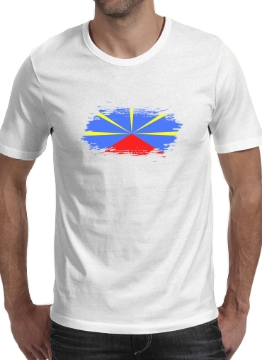 T-Shirts Drapeau de la reunion
