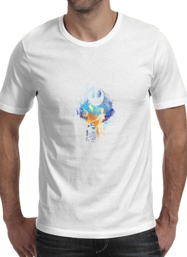 Droids Art for Men T-Shirt