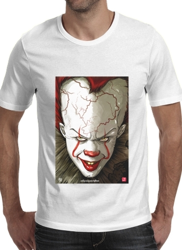 Evil Clown  for Men T-Shirt