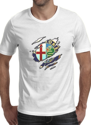 Fan Driver Alpha Romeo Griffe Art for Men T-Shirt
