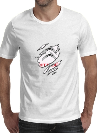 Fan Driver Citroen Griffe for Men T-Shirt
