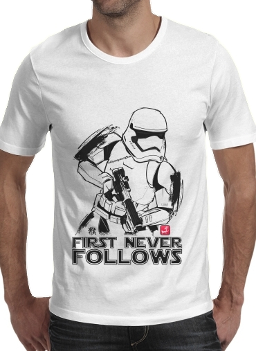 T-Shirts First Never Follows