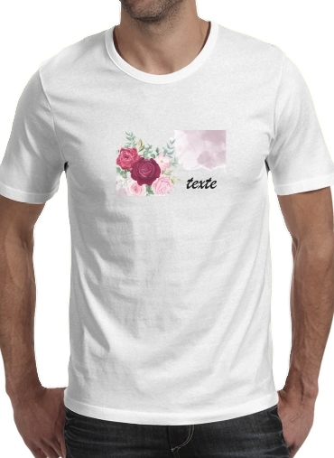 T-Shirts Flower Shop Logo