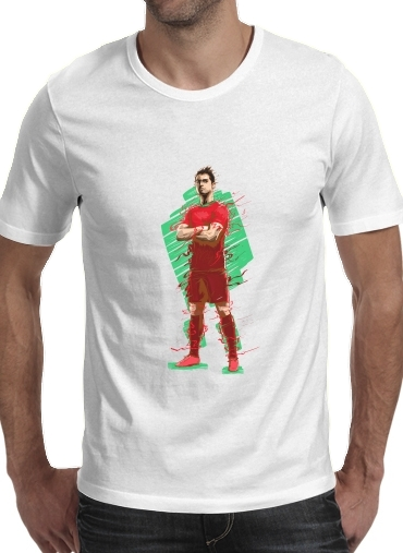 T-Shirts Football Legends: Cristiano Ronaldo - Portugal