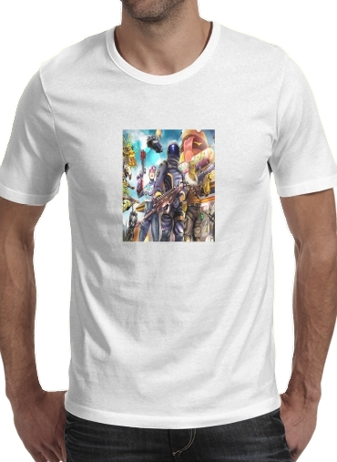 T-Shirts Fortnite Characters with Guns