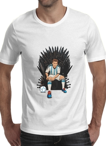 Game of Thrones: King Lionel Messi - House Catalunya for Men T-Shirt