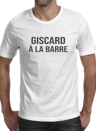 T-Shirts Giscard a la barre